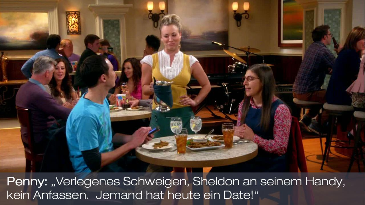 Staffel 7 Folge 5 - Zitat 1 - Bildquelle: Warner Bros. Television