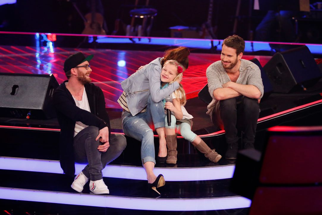 The-Voice-Kids-s03e01-danach-Linnea-09 - Bildquelle: SAT.1/ Richard Hübner