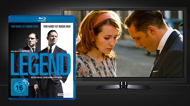 Legend - Blu-ray und Szenenbild © STUDIOCANAL