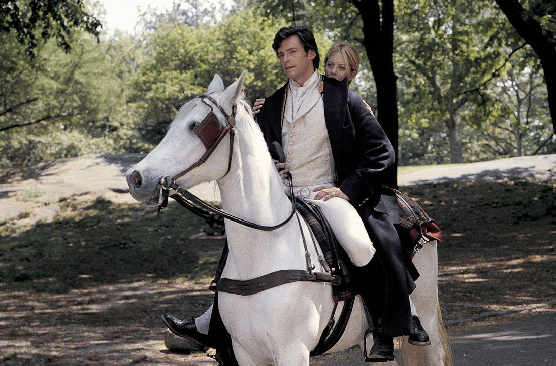 Obwohl in der Vergangenheit auf Leopold Alexis Elijah Walker Gareth Thomas, dritter Baron von Albany (Hugh Jackman, l.) nichts Angenehmes wartet, mu... - Bildquelle: 20th Century Fox of Germany
