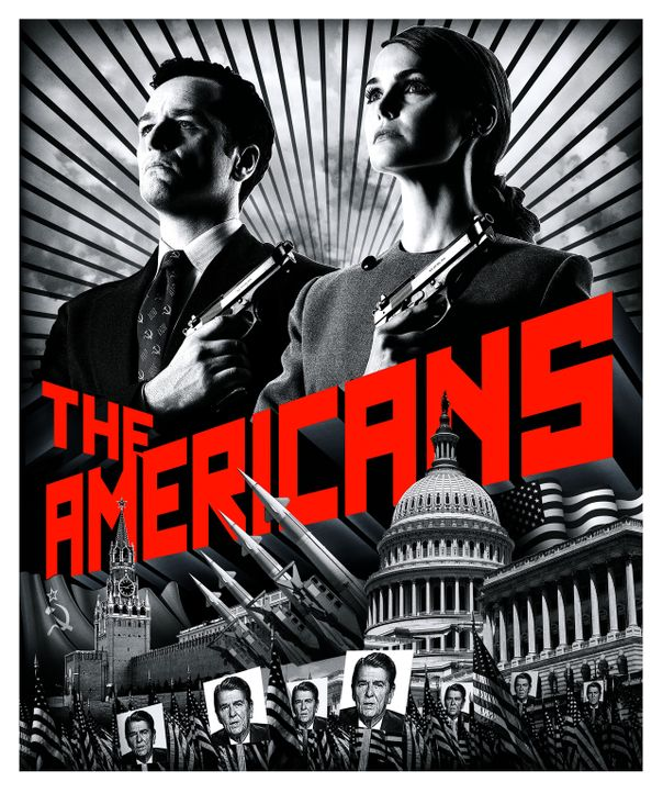 (1. Staffel) - The Americans - Artwork - Bildquelle: 2013 Twentieth Century Fox Film Corporation and Bluebush Productions, LLC. All rights reserved.