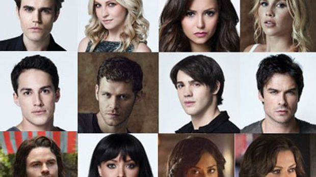 Das sind einige der Bewohner von Mystic Falls