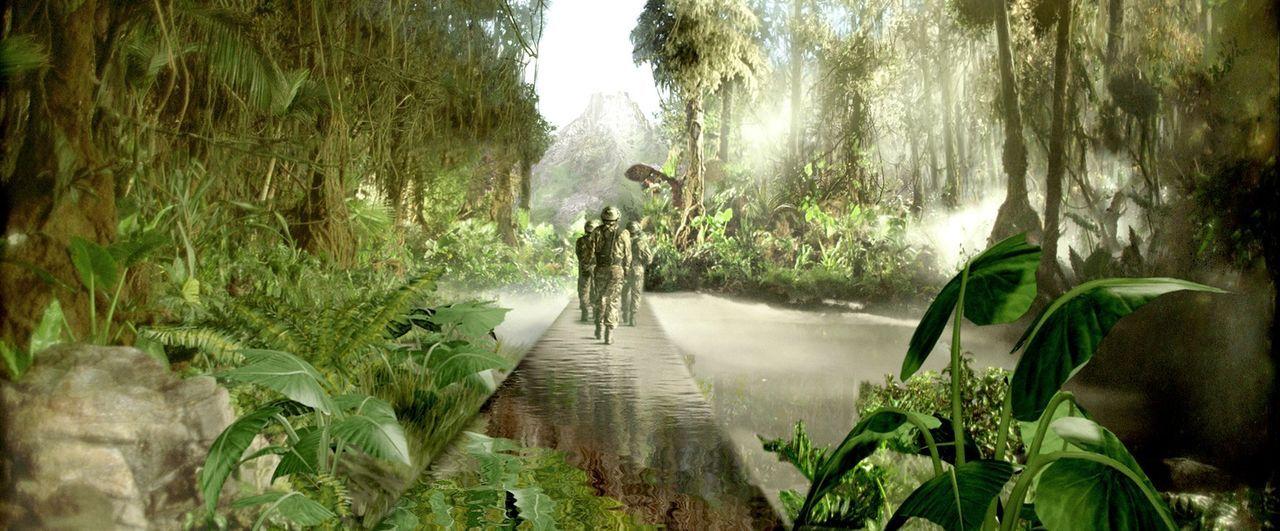 Zeitreisesafaris in die Vergangenheit sind absolut in Mode. Eines Tages jedoch bricht ein Teilnehmer der Dinosaurierjagd die strengen Regeln und lös... - Bildquelle: ApolloMedia