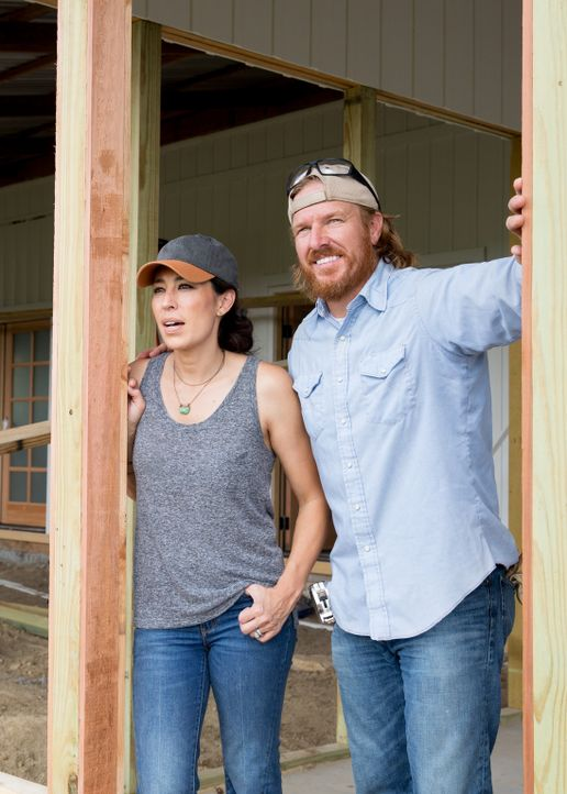 (v.l.n.r.) Joanna Gaines; Chip Gaines - Bildquelle: Jeff Jones 2017, HGTV/Scripps Networks, LLC. All Rights Reserved/Jeff Jones