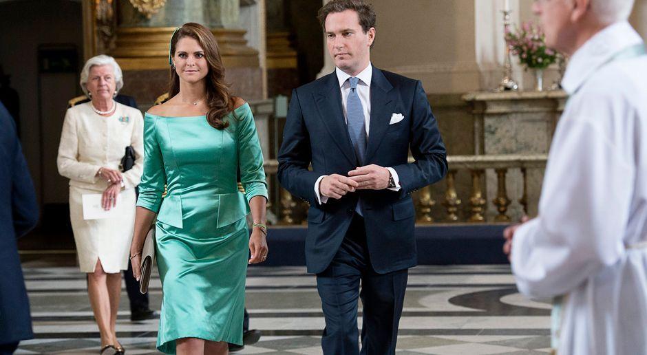 Prinzessin-Madeleine-von-Schweden-Chris-ONeill-13-05-19-AFP - Bildquelle: AFP
