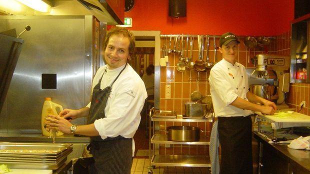 Schlemmen im Liegen - im Münchener Szenerestaurant