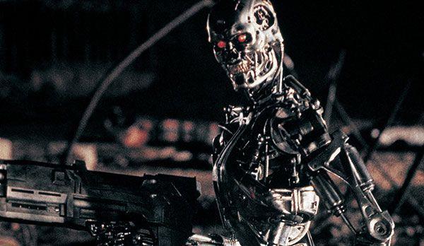 """Platz 5: T-800 aus Terminator - Bildquelle: """"Terminator"""": auf DVD erhältlich (Studio Canal)"""