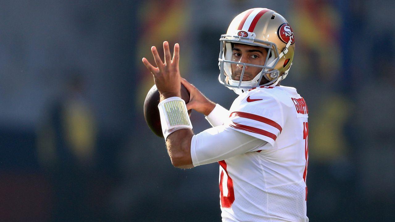 Jimmy Garoppolo - 2017 von den Patriots zu den 49ers - Bildquelle: 2017 Getty Images