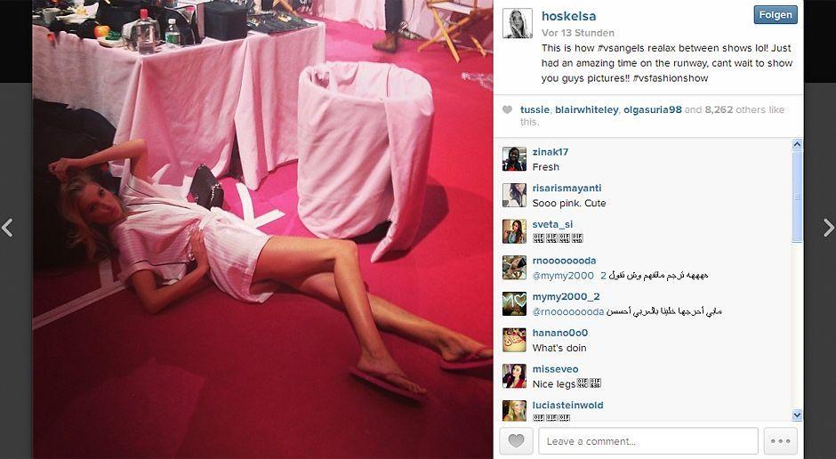 VS-Instagram-07-Instagram - Bildquelle: Instagram/Elsa Hosk