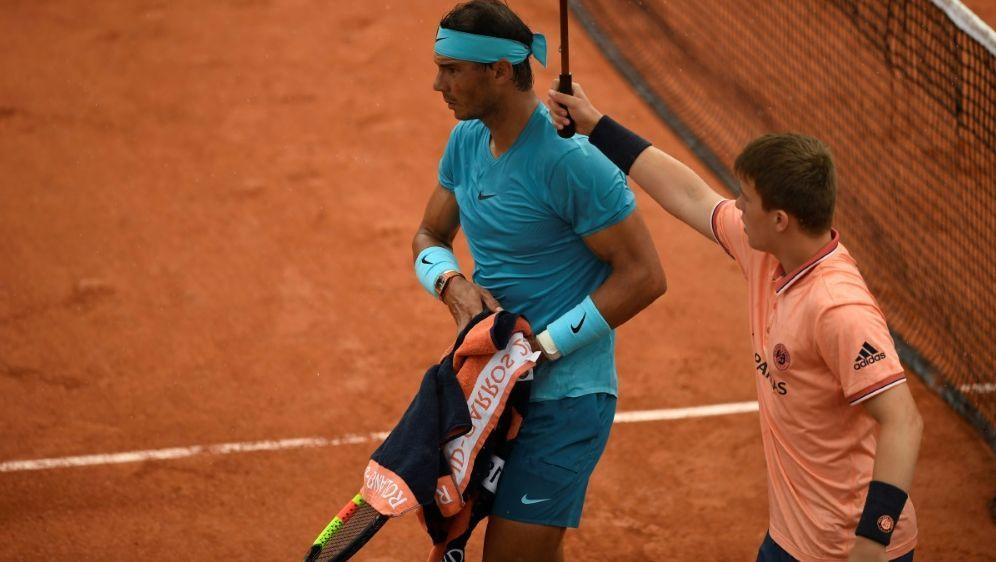 Nadal gegen Schwartzman wurde unterbrochen - Bildquelle: AFPSIDERIC FEFERBERG