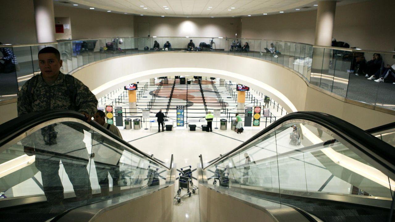Hartsfield-Jackson Atlanta International Airport - Bildquelle: Getty / AFP / Jessica McGowan