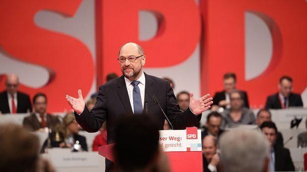 Martin Schulz will die vereinigten Staaten von Europa
