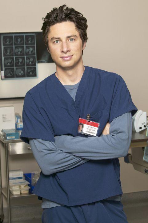 (5. Staffel) - Auf den engagierten Arzt J.D. (Zach Braff) warten neue Überraschungen ... - Bildquelle: Touchstone Television