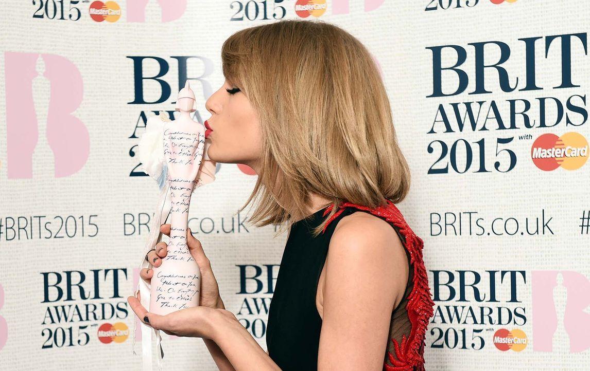 BRIT-Awards-Taylor-Swift-15-02-25-3-AFP - Bildquelle: AFP
