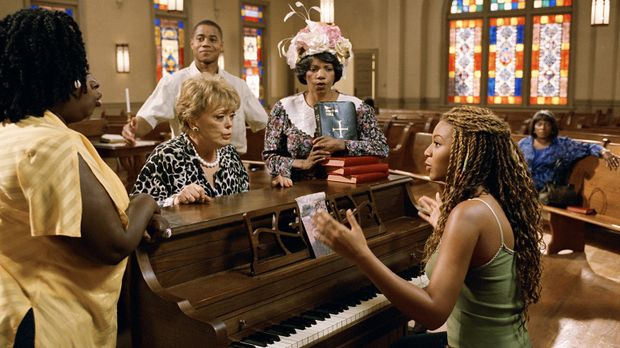 (v.l.n.r.) Alma (Angie Stone), Nancy (Rue McClanahan), Darrin (Cuba Gooding J...