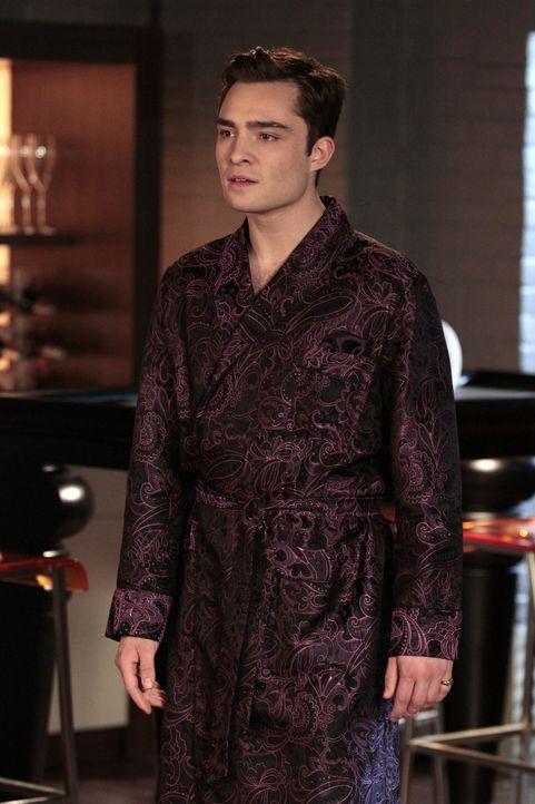 Chuck (Ed Westwick) ist verzweifelt, weil Blair nicht gekommen ist ... - Bildquelle: Warner Bros. Television